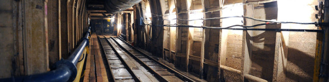 Metro v jdin tonnel