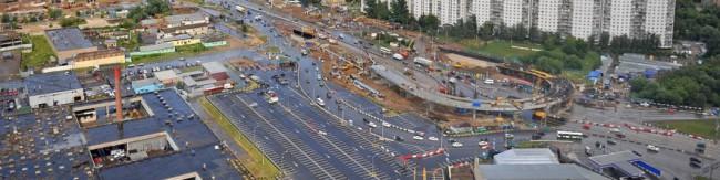 Transportnoe razvitie Moskva